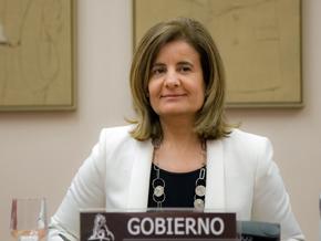 La ministra de Empleo y Seguirdad Social, Fátima Báñez.