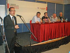 Anxo Lorenzo abrió la conferencia dedicada a Roberto Vidal Bolaño.