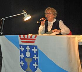 María Barrio glosó la figura de Roberto Vidal Bolaño en el Valle Miñor con motivo del Día das Letras Galegas.