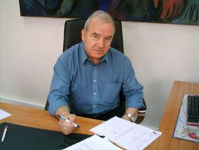El presidente de la Faceef, Antonio Aliaga.