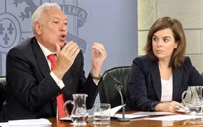 El ministro de Asuntos Exteriores y Cooperación, José Manuel García-Margallo, explicó las características de la nueva ley.