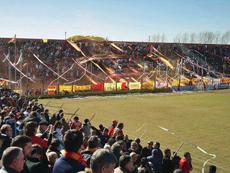 La afición del Deportivo Español asistió en gran número a su estadio.