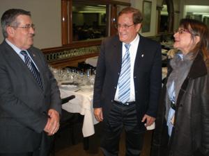 García Galindo, Martín Alonso y Hernando manifestaron su satisfacción por la puesta en marcha de esta iniciativa.