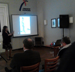 Sandra Dotta ofreció una conferencia sobre Sorolla.