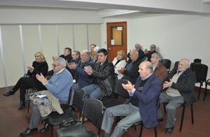 Delegados de las instituciones en la asamblea de la FIEU.