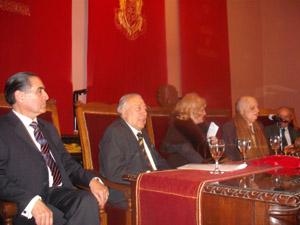 Gustavo Ramos, Ángel Ballesteros, Marcela Aspell e Ignacio Tejerina.