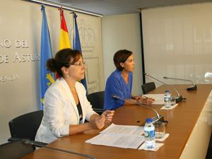Las consejeras Belén Fernández y Dolores Carcedo explicaron los acuerdos del Gobierno. explicaron los acuerdos de la reunión del Ejecutivo asturiano.