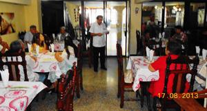 El vicepresidente Ramón Trabada pronunció unas palabras en el acto.