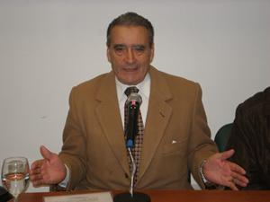 Pedro Bello, presidente de la Federación de Sociedades Españolas de Argentina.