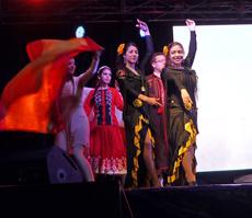 Componentes del Grupo 'Blanca Paloma'.