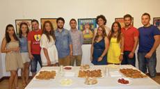 Miembros de la actual Junta Directiva de la Asociación de Amigos de la Empanada de Bandeira.