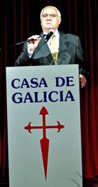 El actual presidente de Casa de Galicia, Manuel Ramos.