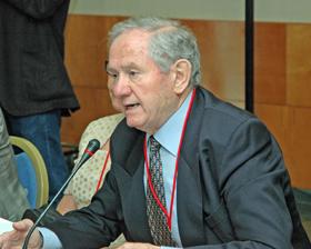 José María Oliver en el pleno del CGCEE celebrado el pasado mes de junio en Madrid.