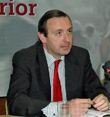 El director general de Españoles en el Exterior y de Asuntos Consulares y Migratorios del Ministerio de Asuntos Exteriores y Cooperación, Luis Fernández-Cid.