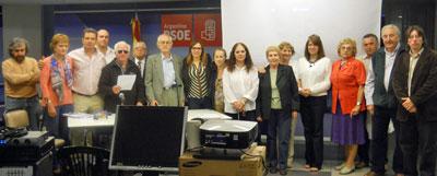 Comité Ejecutivo del PSOE en Buenos Aires.