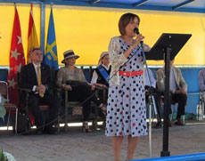 Intervención de la directora general de Emigración, Begoña Serrano.