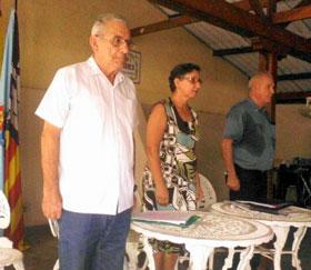 Manuel Vallejo, María Rosa González y Roberto Ogando.