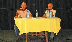 Santiago Prado y Carlos Venegas.