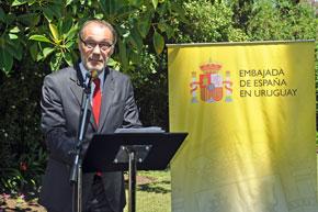 Intervención del embajador Roberto Varela.
