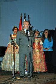 Intervención del cónsul general Eduardo de Quesada.