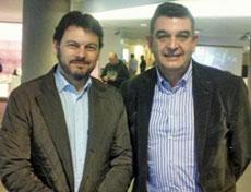 Antonio Rodríguez Miranda y Joaquín Calvo Basarán.