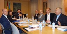 Reunión en la Secretaría Xeral da Emigración.