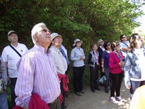 Socios de la Casa de Castilla y León en la Sierra en un momento de la jornada.