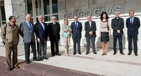 Los miembros del jurado se reunieron en la Cidade da Cultura.