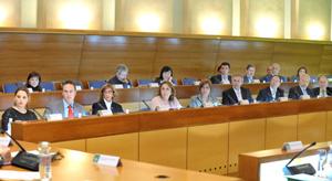 Imagen de una anterior reunión del Consejo de Comunidades Andaluzas.