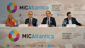 Imagen de la presentación del MICAtlántica.