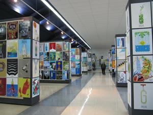 Los diseños que participan en el Concurso se exponen en la Estación Marítima del Puerto de Vigo.
