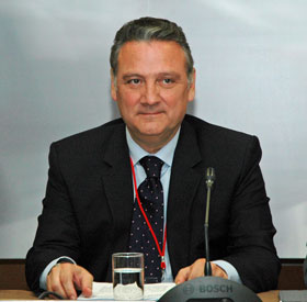 El secretario ejecutivo del PP en el Exterior, Alfredo Prada.