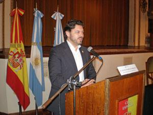 El secretario xeral felicitó a los jóvenes que participaron en el programa Conecta con Galicia.
