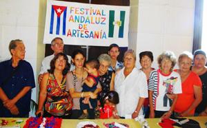 Participantes en el Festival Andaluz de Artesanías 2013.
