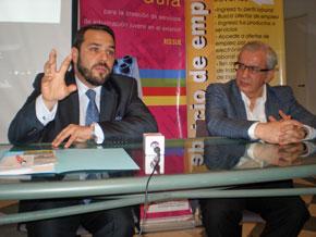Santos Gastón Juan y Juan Castellanos presentaron el 8º Congreso de Jóvenes Descendientes de Españoles en Argentina.