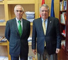 Miras Portugal y José Alberto Sanchís.
