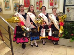 La Reina del Centro, Luciana Anahi Rojas, y sus Princesas.