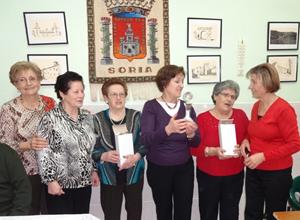 La entrega de trofeos del Campeonato de Juegos de Cartas.