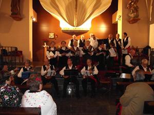 El grupo Trigo Verde de la Casa en una de las actuaciones.