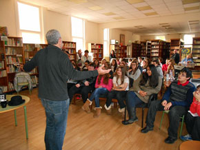 Una actividad del Instituto Español Vicente Cañada Blanch de Londres.