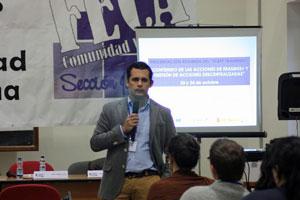 Intervención del director del IAJ, Raúl Perales.