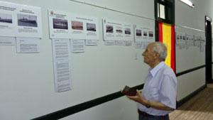 La muestra también estuvo en la Sociedad Española de Trenque Lauquen.