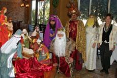 Los Reyes Magos en la Asociación Cultural Española de Arizona.