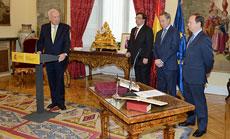 José Manuel García-Margallo se dirige a los nuevos directores generales tras la toma de posesión.