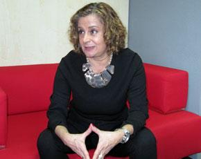 Carmela Silva, responsable de emigración del Partido Socialista.