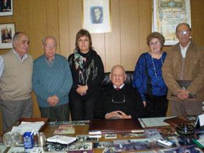 Integrantes de 'Galicia', una de las cinco agrupaciones políticas del Centro Gallego de Buenos Aires.