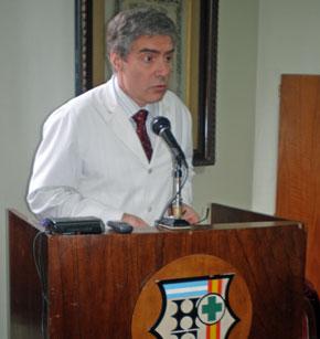 Roberto Pol tuvo a su cargo hasta diciembre del año pasado la dirección médica del Hospital Español.
