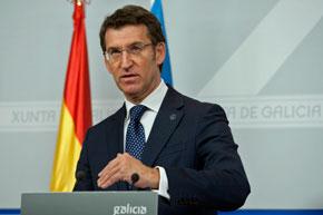 El presidente de la Xunta, Alberto Núñez Feijóo, explicó la renovación del apoyo de la Xunta a la Red Pexga.