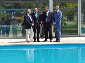 Las instalaciones fueron inauguradas por el vicepresidente de la Xunta, Alfonso Rueda.