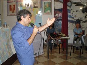 El musicólogo destacó la influencia de la diáspora en la música tradicional gallega.